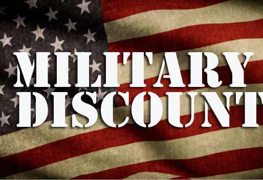 We offer Military Discounts!