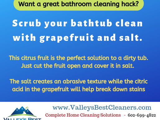 Want a Great Bathroom Cleaning Hack?