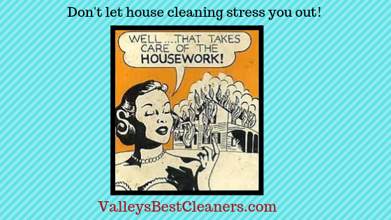 Valley's Best Cleaners offers house cleaning services