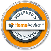 screened and approved by home advisor badge