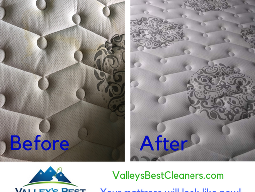 When was the last time you cleaned your mattress?