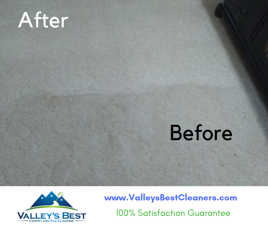 Valley's Best Carpet & Tile Cleaning will make your carpet look like new!