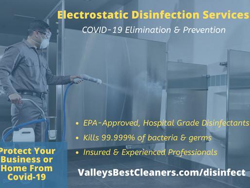 Covid-19 Elimination & Prevention Disinfection Services in Phoenix, AZ