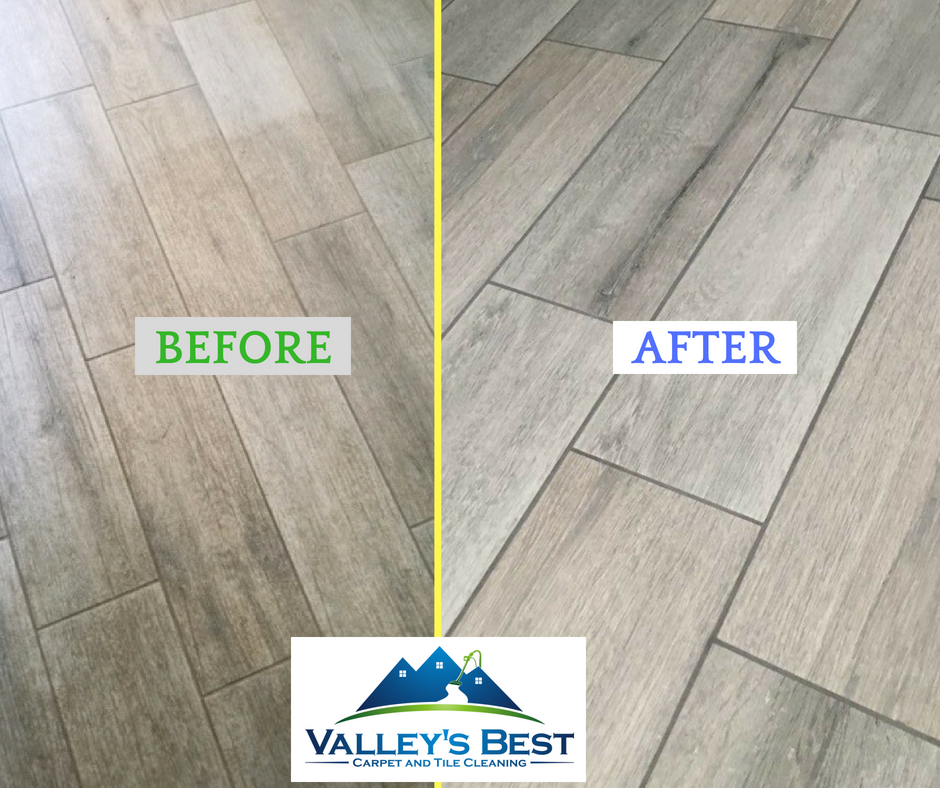 Your tile & grout will look brand new!  www.valleysbestcleaners.com