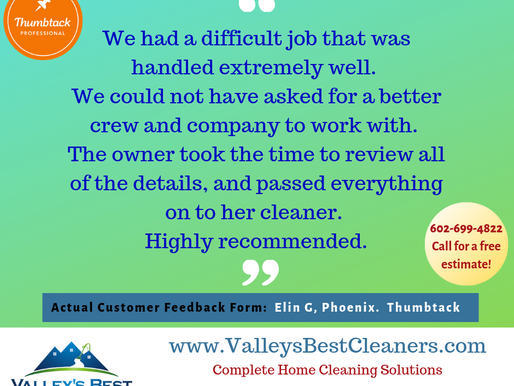 We Care About Customer Satisfaction!
