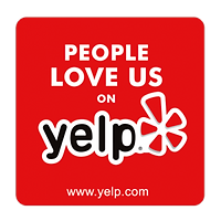 5-Star Reviews on Yelp Badge