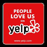 5-Star Reviews on Yelp Badge