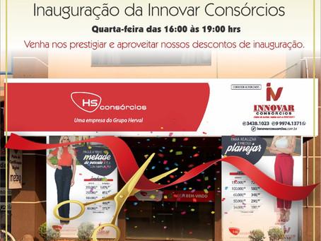 Innovar Consórcios inaugura sua loja em Laguna Carapã