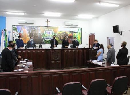 Câmara de Vereadores realiza sessão solene pelo aniversário de 29 anos de Laguna Carapã