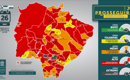 Com atualização do Prosseguir, 46 municípios podem ter novo toque de recolher