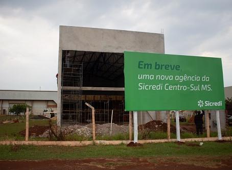 Sicredi Centro-Sul MS terá nova agência em Dourados