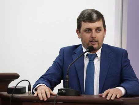 Vereador Eduardo Oliveira apresenta demandas na 1ª Sessão da Câmara Municipal