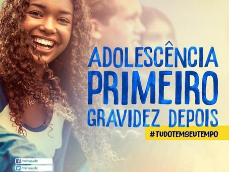 Campanha de prevenção da gravidez na Adolescência