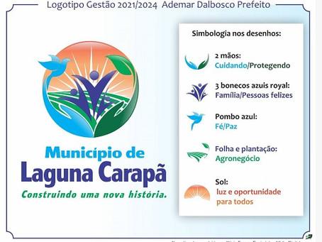 Prefeito Ademar Dalbosco divulga logomarca de sua gestão