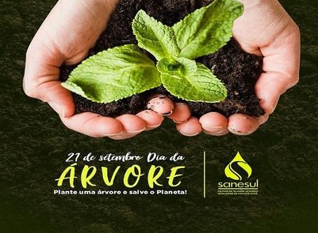 Sanesul comemora Dia da Árvore com doação de 10 mil mudas de espécies nativas