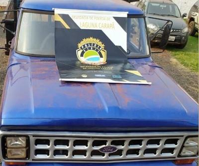 Polícia Civil de Laguna recupera veículo roubado em Dourados