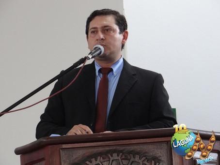 De forma unânime, Flávio de Oliveira é eleito presidente da Câmara Municipal de Laguna Carapã