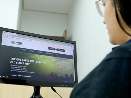 Senar Mato Grosso do Sul lança plataforma EAD gratuita voltada a pessoas que atuam no campo