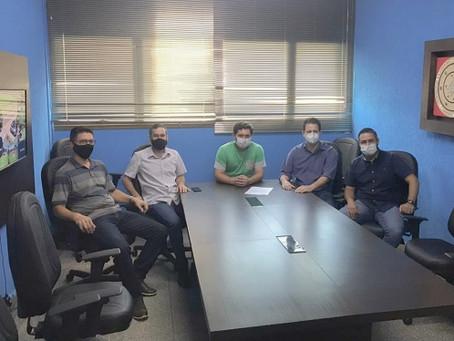 Renato Câmara visita Laguna Carapã e cumpre agenda com vereadores