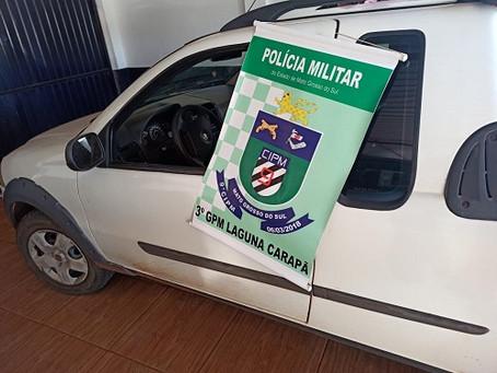 Polícia Militar prende homem por Contrabando e apreende veículo com 6.400 maços de cigarros