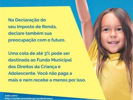 CMDCA lança campanha Declare seu Carinho