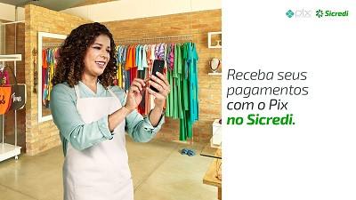 Máquinas de cartões do Sicredi contam com o Pix para receber pagamentos