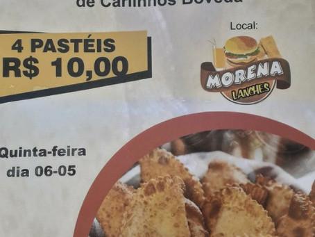 Pastelada beneficente em prol do tratamento de saúde de Carlinhos Boveda acontece amanhã