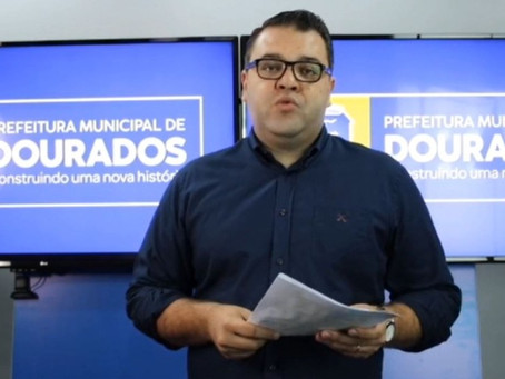 Prefeito de Dourados decreta lockdown por 14 dias no município
