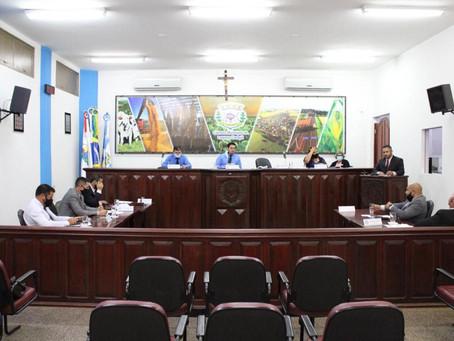 Resumo da 1ª Sessão Ordinária da Câmara Municipal de Laguna Carapã