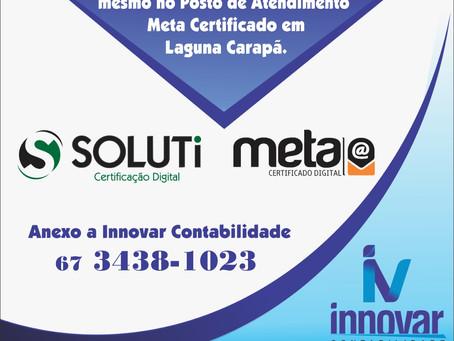 Innovar Contabilidade oferece certificado digital