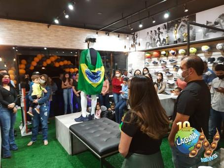 Loja Dominu's Sports inaugura em Laguna Carapã