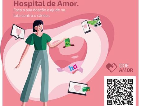 Sicredi Centro-Sul MS lança plataforma própria de doação para o Hospital de Amor
