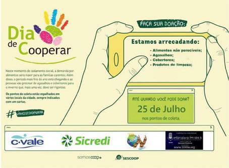 C.Vale promove campanha do agasalho em Laguna Carapã