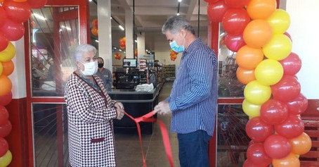 Supermercado Chama inaugura unidade em Laguna Carapã