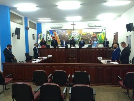 1ª Sessão Solene marcou o início dos trabalhos legislativos em Laguna Carapã