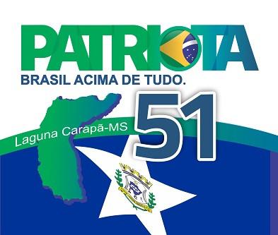 Ratificação: Patriotas de Laguna Carapã realiza convenção municipal dia 14 de setembro