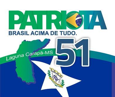 Patriota de Laguna Carapã convoca para convenção no dia 15 de setembro