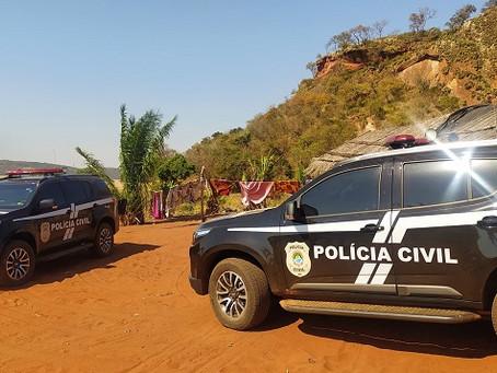 Polícia Civil prende dois em Laguna em cumprimento a Mandados expedidos pela justiça em Campo Grande
