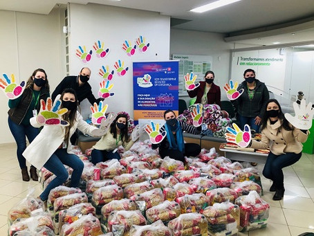 Dia de Cooperar: Sicredi arrecada cerca de 750t de alimentos e beneficia mais de 106 mil pessoas
