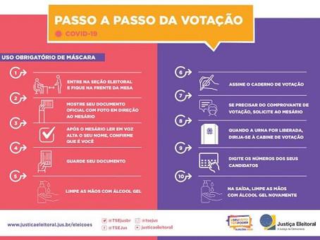 Eleitores precisam estar atentos a algumas regras e cuidados na hora da votação