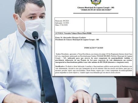 Valmor Flores quer projeto para ajudar funcionalismo público durante Pandemia