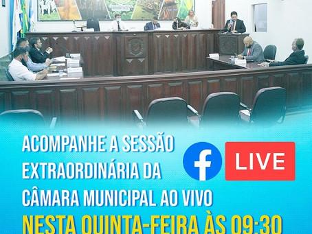 Câmara Municipal realizará Sessão Extraordinária para votar formulação do Conselho do FUNDEB