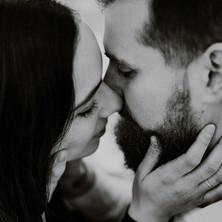 Photographe à Troyes, photo de couple en noir et blanc