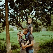 Photographe à Troyes, séance photo famille au parc des moulins