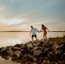 Photographe à Troyes, séance photo de couple au lac de la forêt d'orient