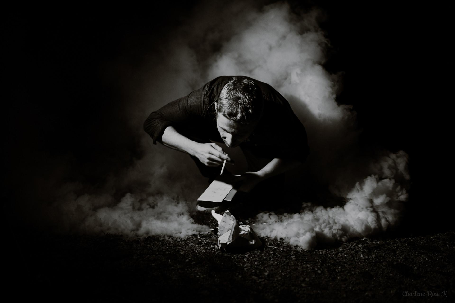 seance,photo,troyes,homme,noir,blanc,fumée,charlene,rose,k