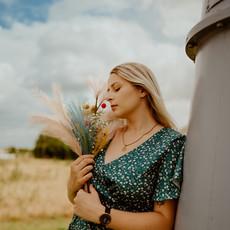 Photographe à Troyes, Portrait de femme champêtre