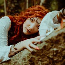 Photographe à Troyes, Portrait de femme mystique et wicca