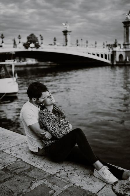photographe,paris,troyes,couple,lifestyle,amour,noir,blanc,charlene,rose,k