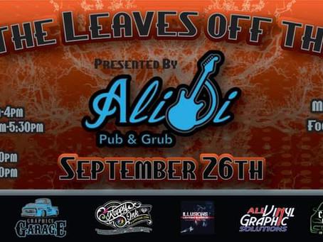 LIVE! at The Alibi Pub & Grub - 09/26/2020